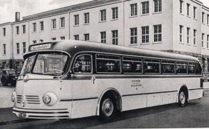 Mercedes Bus von 1960
