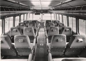 Reisebus von innen 1970