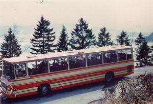 Reisebus der Marke MAN von 1969